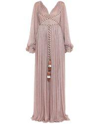Peter Pilotto Langes Kleid - Pink