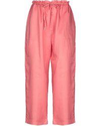 5preview Pantalones - Rosa