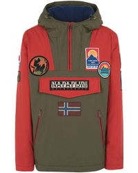 Napapijri Rainforest Multi Patch Anorak - Green