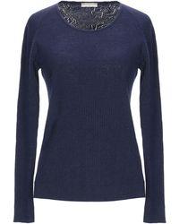 ALTEЯƎGO Pullover - Blau