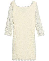 Diane von Furstenberg Short Dress - White