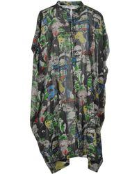 Zucca - Knee-length Dress - Lyst