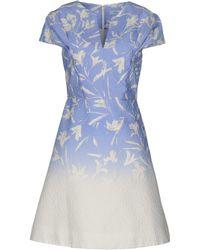 Blumarine Short Dress - Purple