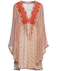 Talitha Short Dress - Orange