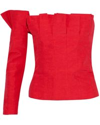 Carmen March Top - Red