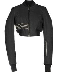 Rick Owens Drkshdw Denim Outerwear - Black