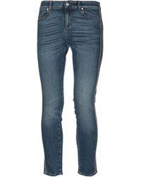 Alexander McQueen Pantalones vaqueros - Azul