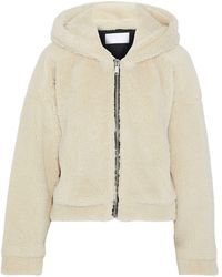 RE/DONE Teddy Coat - White