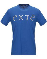 Exte T-shirt - Blu