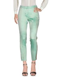 Femme By Michele Rossi - Casual Trousers - Lyst