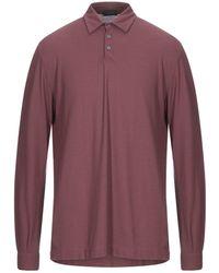 Zanone Polo Shirt - Purple