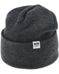 WOOD WOOD Hat - Gray