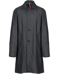 Homme by Michele Rossi Overcoat - Blue