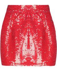 Amen Mini Skirt - Red