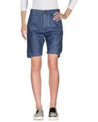 TRUE NYC Denim Shorts - Blue