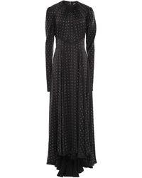 Paco Rabanne Long Dress - Black