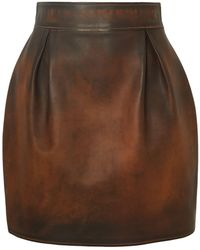 Versace Mini Skirt - Brown