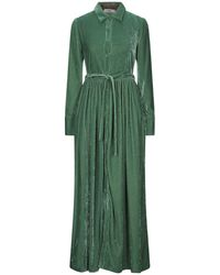 Suoli 3/4 Length Dress - Green