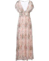 Blugirl Blumarine Langes Kleid - Pink