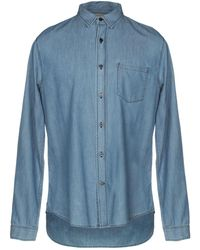 Vince - Denim Shirt - Lyst