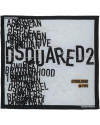 DSquared² Scarf - White
