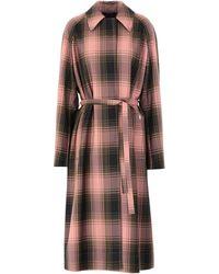 Calvin Klein Overcoat - Pink