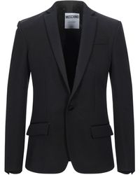 Moschino Suit Jacket - Black