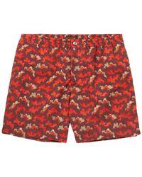 Tod's Swim Trunks - Red