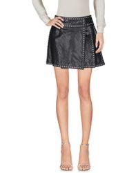 DSquared² Mini Skirt - Black