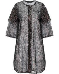 Soallure Overcoat - Black