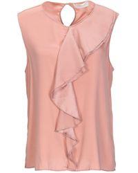 Glanshirt Top - Pink