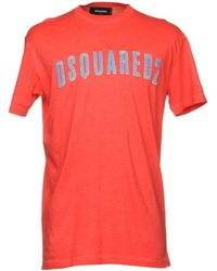 DSquared² T-shirts - Rot