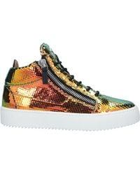Giuseppe Zanotti Sneakers abotinadas - Multicolor