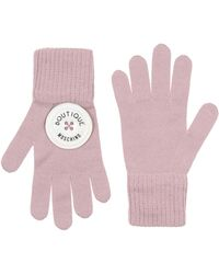Boutique Moschino Gloves - Pink