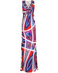 Emilio Pucci - Long Dress - Lyst