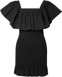 Solid & Striped Robe courte - Noir