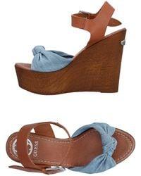 Guess Sandales - Bleu