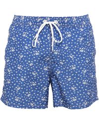 Marina Yachting Swim Trunks - Blue