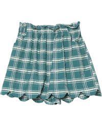 WEILI ZHENG Shorts - Green