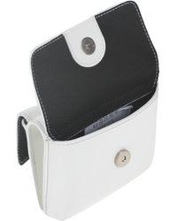 MSGM Cross-body Bag - White