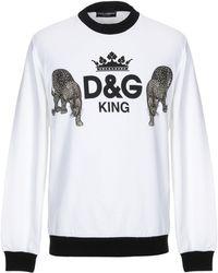 Dolce & Gabbana Sweat-shirt - Blanc