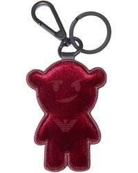 Emporio Armani Key Ring - Red