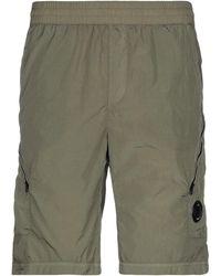 C.P. Company Bermuda Shorts - Green
