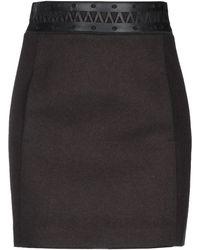 Neil Barrett Midi Skirt - Black