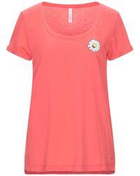Sun 68 T-shirt - Pink