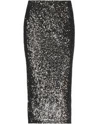 Motel 3/4 Length Skirt - Black