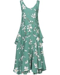 Isa Arfen 3/4 Length Dress - Green