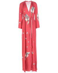 Vilshenko Long Dress - Red