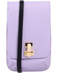 the VOLON Cross-body Bag - Purple