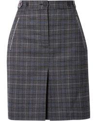 Rag & Bone Knee Length Skirt - Black